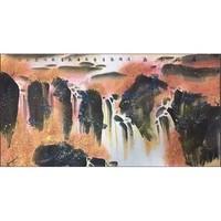 尚得堂 戴吾馨《层林尽染》138×68cm 收藏国家一级美术师 大师手绘真迹收藏款