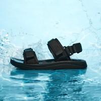 Semir 森马 10E9321147112-0199  男士两条扛运动凉鞋