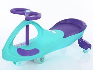 凤凰儿童扭扭车万向轮女宝宝摇摆车1-3-6岁玩具妞妞车滑行溜溜车