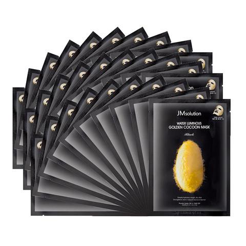 黑卡会员:JMsolution 肌司研 透明质酸蚕丝补水面膜 10片*3