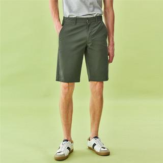 GIORDANO 佐丹奴 短裤男装轻薄弹力休闲简约短裤五分裤男士61100341