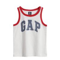 Gap 盖璞 布莱纳系列 男童运动背心 701453 白色 110cm