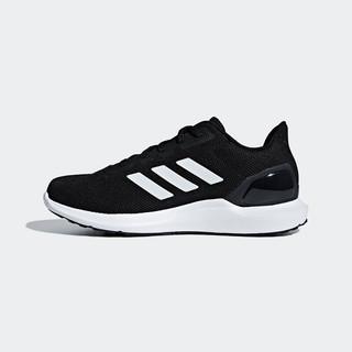 adidas Originals 阿迪达斯官网 adidas COSMIC 2男鞋低帮跑步运动鞋F34877 1号黑色/亮白 38.5(235mm)
