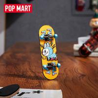 POP MART 泡泡玛特 POPMART泡泡玛特 THE MONSTERS精灵玩具系列手指滑板徽章创意礼物