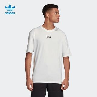 阿迪达斯官网adidas三叶草F TEE男装夏季运动短袖T恤 FM2254