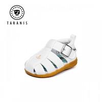 TARANIS 泰兰尼斯 宝宝学步鞋叫叫鞋包头凉鞋