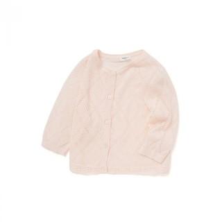balabala 巴拉巴拉 女童 洋气针织开衫夏装2021新款儿童外套童装空调衫