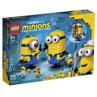 LEGO 乐高 75551小黄人系列玩变小黄人儿童拼装玩具男孩女孩