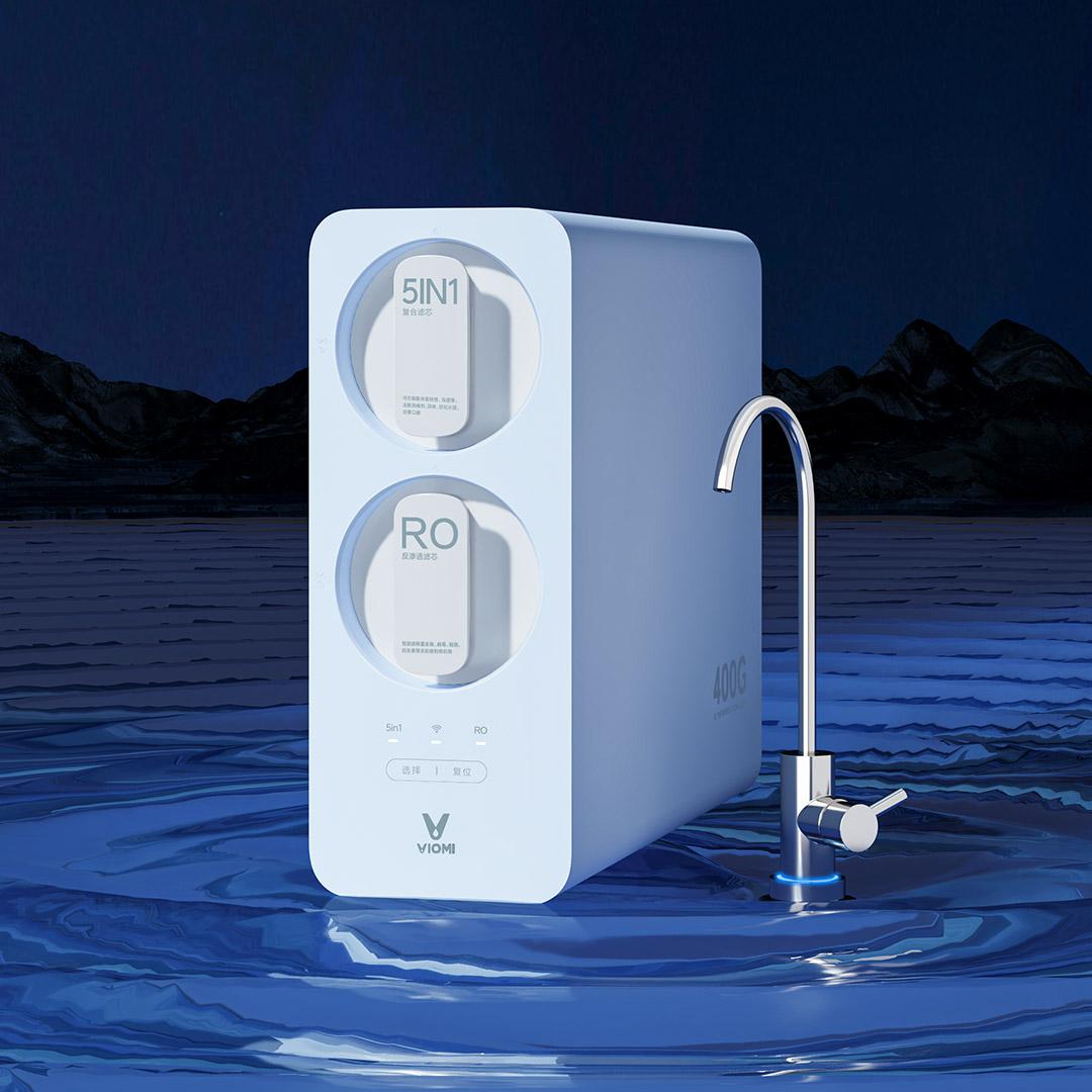 VIOMI 云米 MR462   净水器 蓝色