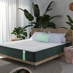 CatzZ 瞌睡猫 绿仙棕 5区静音独袋竹炭环保床垫 120*200*24cm