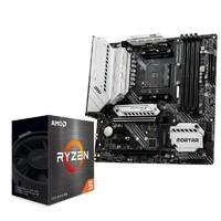 AMD R55600X CPU处理器 + 微星 B450M PRO-VDH 主板 板U套装