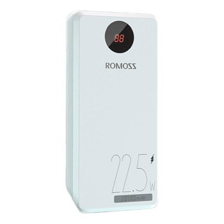 ROMOSS 罗马仕 PHO20-252 移动电源 白色 20000mAh Type-C 22.5W快充