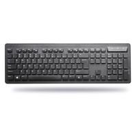 PRAVIX 铂科 KB6410 无线键鼠套装 黑色