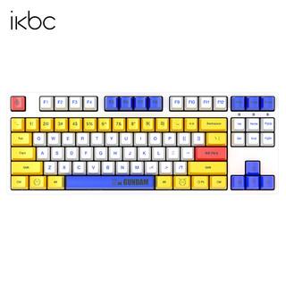 iKBC ikbc高达机械键盘游戏樱桃cherry87轴