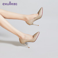 exull 依思Q 依思q(exull) 时尚尖头高跟鞋