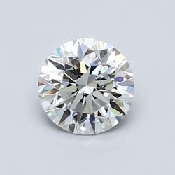 Blue Nile 0.83克拉圆形切割钻石理想切工 | G 级成色 | VS2 净度