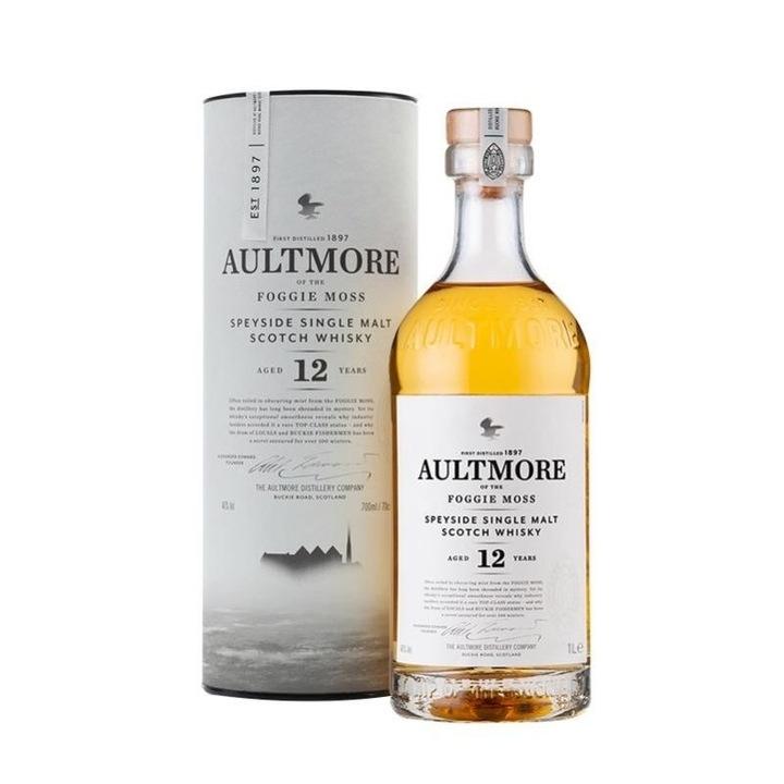 AULTMORE 欧摩 12年斯贝塞单一麦芽威士忌酒 公升装1000ml