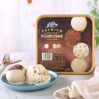 PLUS会员:MUCHMOORE 玛琪摩尔 鲜奶冰淇淋 四合一 2000ml