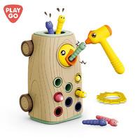 PLAYGO 贝乐高 啄木鸟玩具捉虫 抓虫玩具