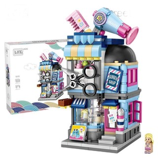 LOZ 俐智 mini街景系列 1645 美发店