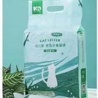 PLUS会员:倍儿蜜 豆腐猫砂 2.4kg 绿茶