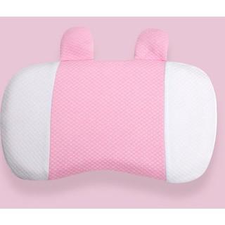 BoBDoG 巴布豆 婴儿枕头1-3岁新生宝宝定型枕防偏头定型枕透气夏天凉爽
