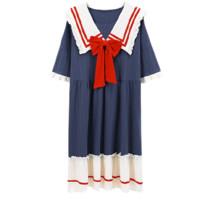 FUXINKANG 富信康 女士纯棉短款睡裙 23001 XL