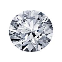 Blue Nile 1.40克拉圆形切割钻石理想切工 | F 级成色 | VS1 净度