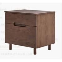8H Tree简约全实木床系列 通用床头柜 小款