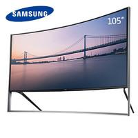 SAMSUNG 三星 巨屏液晶电视机 量子点智能平板原装液晶大屏电视 105英寸5K高清曲面UA105S9