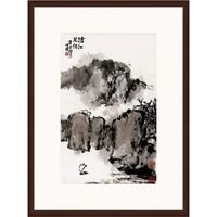 Artron 雅昌 朱屺瞻 《沧江风帆》74×99cm 装饰画 宣纸