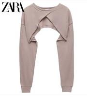 ZARA [折扣季] 女装 罗纹短款上衣 00858027676