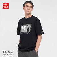 UNIQLO 优衣库 441413 情侣装印花短袖T恤