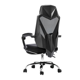 黑白调电脑椅家用电竞椅宿舍椅子人体工学座椅舒适久坐可躺办公椅