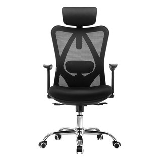 西昊人体工学椅M18 电脑椅家用电竞椅升降椅子转椅舒适久坐办公椅
