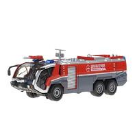 Cadeve 凯迪威 仿真合金模型车1:50高压水枪消防车泡沫机场声光回力汽车玩具625026(颜色随机发货)