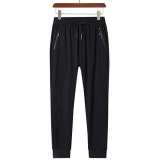 KRXSJO 春季新款2021冰丝裤男士夏季超薄款速干运动休闲 F20218-束脚 2XL