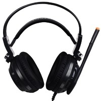 SOMiC 硕美科 G941 耳罩式头戴式有线游戏耳机 黑色 USB口