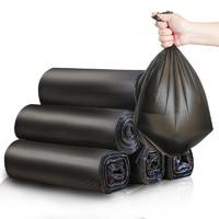 家来纳 点断式平口垃圾袋 45*50cm 共125只