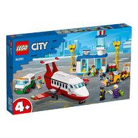 LEGO 乐高 城市系列 60261 中心机场