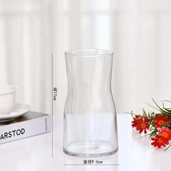 JUNYING 军英 中水晶透明色玻璃花瓶