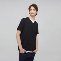 J.ZAO 京东京造 1 男士V领T恤