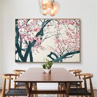 仟象映画 李士运 花深无地 新中式巨幅客厅装饰画水墨禅意挂画 120x80cm