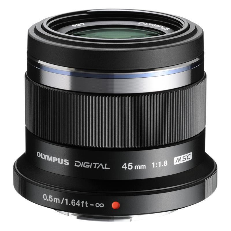 OLYMPUS 奥林巴斯 M.ZUIKO DIGITAL 45mm F1.8 标准定焦镜头 奥林巴斯卡口 37mm 黑色