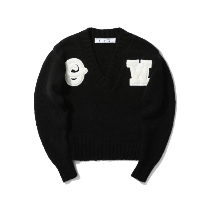 OFF-WHITE c/o VIRGIL ABLOH™ 男士V领针织衫
