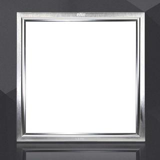 NVC Lighting 雷士照明 LED集成吊顶灯 银边 正白光 16W