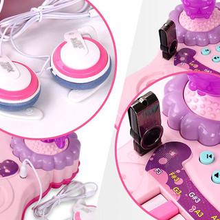 惠 花仙子电子琴 梦幻紫 基础版+话筒+充电线+电池