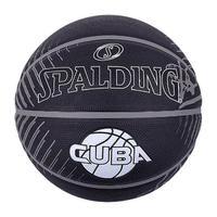 SPALDING 斯伯丁 涂鸦系列 橡胶篮球 84-234Y 黑米 7号/标准