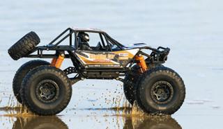 美致模型 1/14 四驱攀爬越野遥控车 橙色 普通版 官方标配