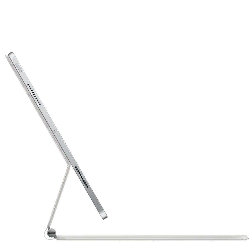 Apple 苹果 适合12.9英寸的妙控键盘 64键 磁吸薄膜键盘 白色 无光